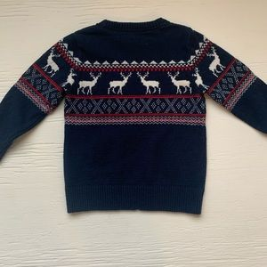 H&M boys sweater size 4-6 years holiday